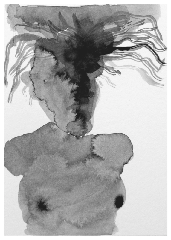 """עבודה של אלסנדרה אצ'רנו (מתוך """"גופא"""")"""