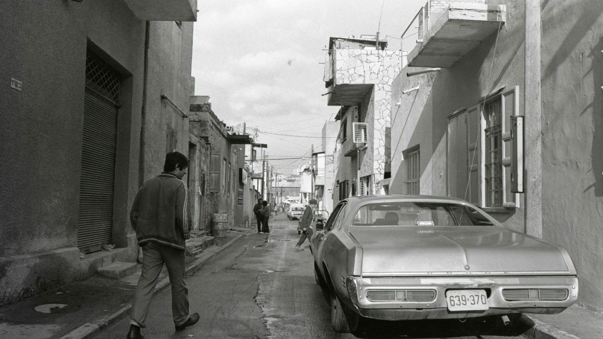 כרם התימנים בשנות ה-70' (צילום: בועז לניר)