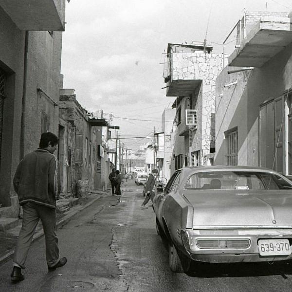 כרם התימנים בשנות ה-70' (צילום: ערן לניר)