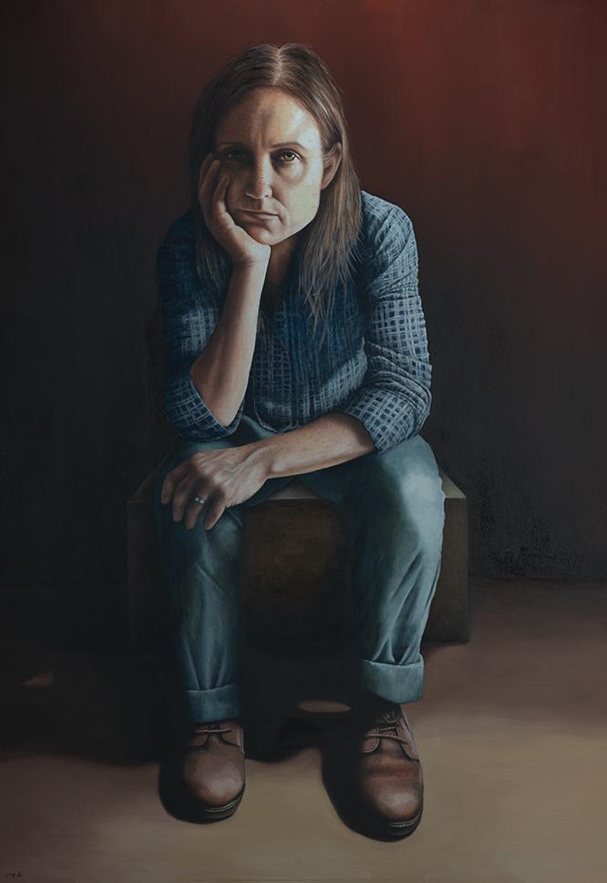 """עבודה של טלי עירוני, מתוך התערוכה """"קוורטט"""""""