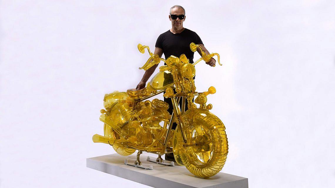 מתוך עבודתו של בוריס שפייזמן בביאנלה לאמנות ועיצוב (צילום: יונה שליי)