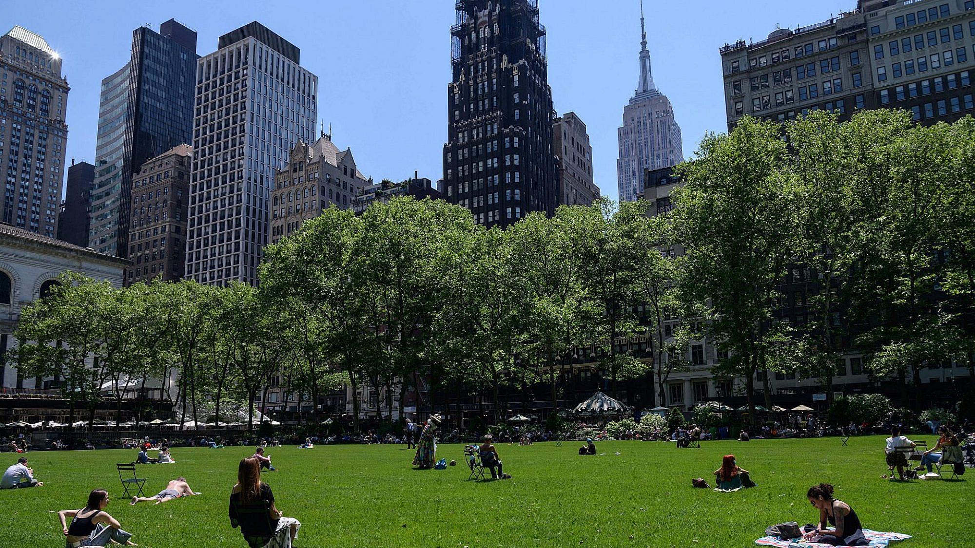 ניו יורק, השבוע. כאן דווקא מצאו פתרונות. צילום: ANGELA WEISS/AFP