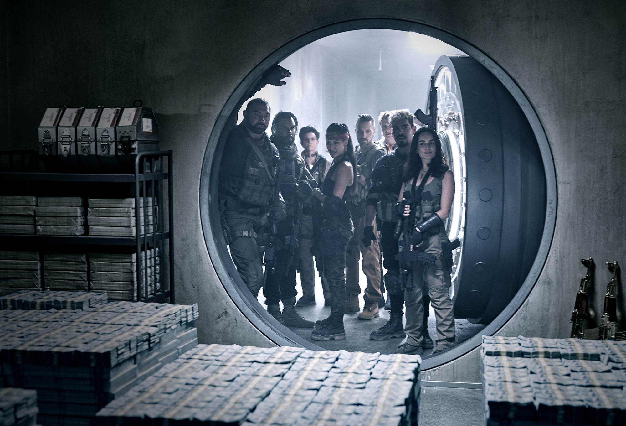 """""""צבא המתים"""" (צילום: Netflix)"""