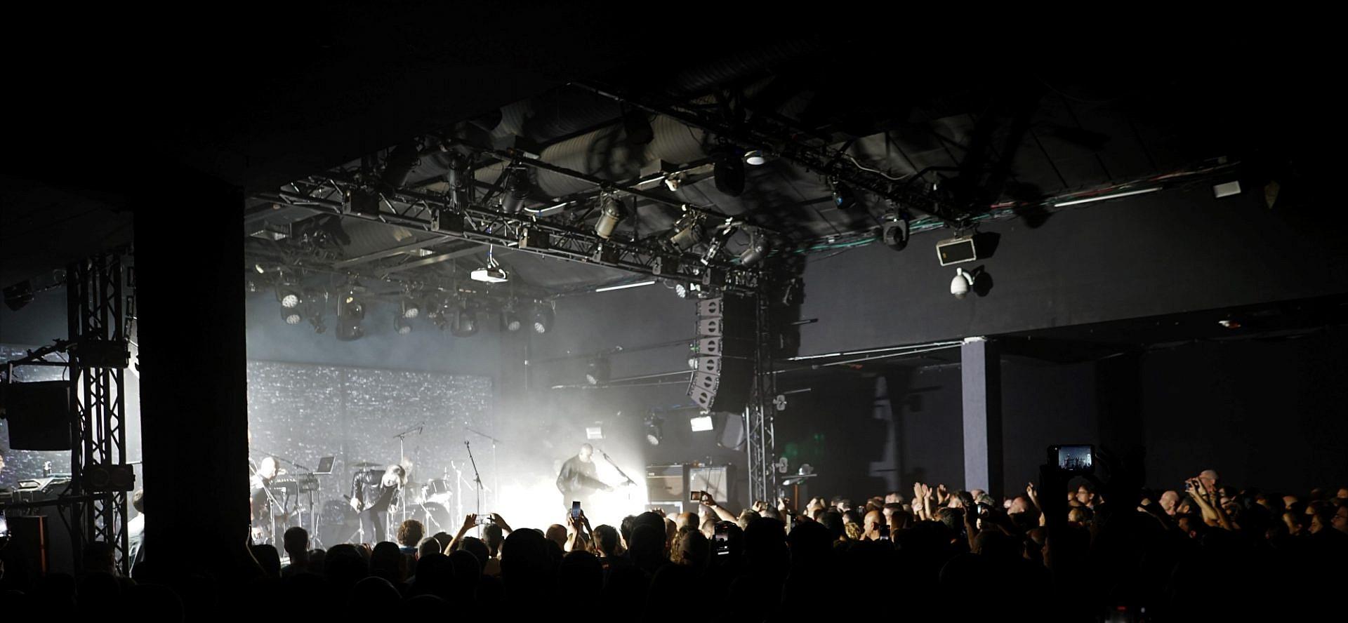 משינה בהופעה. B-Side, חלל ההופעות האלטרנטיבי החדש של זאפה (צילום: עוזי שעיה)