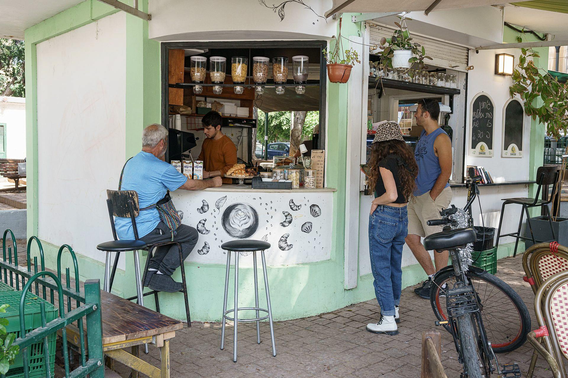 קפה רות. צילום: אנטולי מיכאלו
