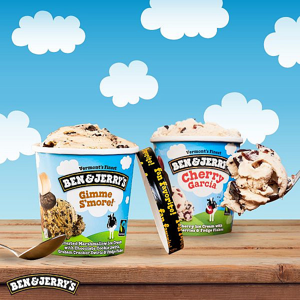 בחירת הקהל של בן & ג'רי'ז. גלידת Gimme S'more (צילום: יחסי ציבור)