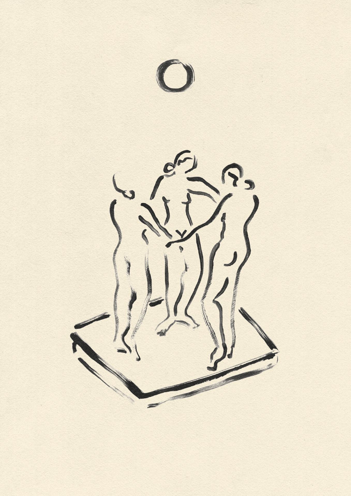 """מתוך התערוכה """"עלות הלבנה"""", אלישבע"""