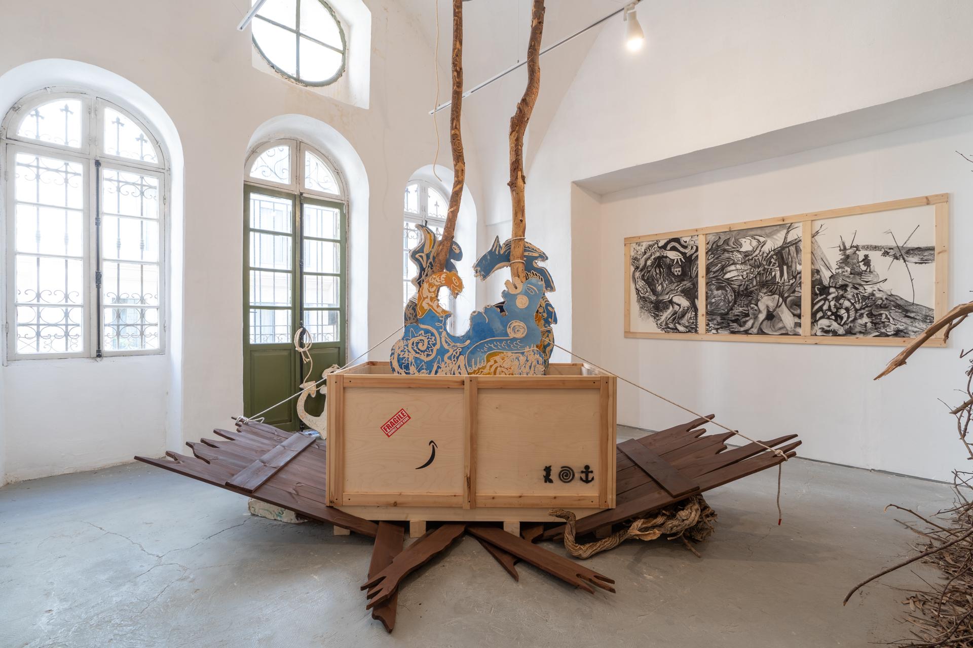 מתוך התערוכה בגלריה ברבור