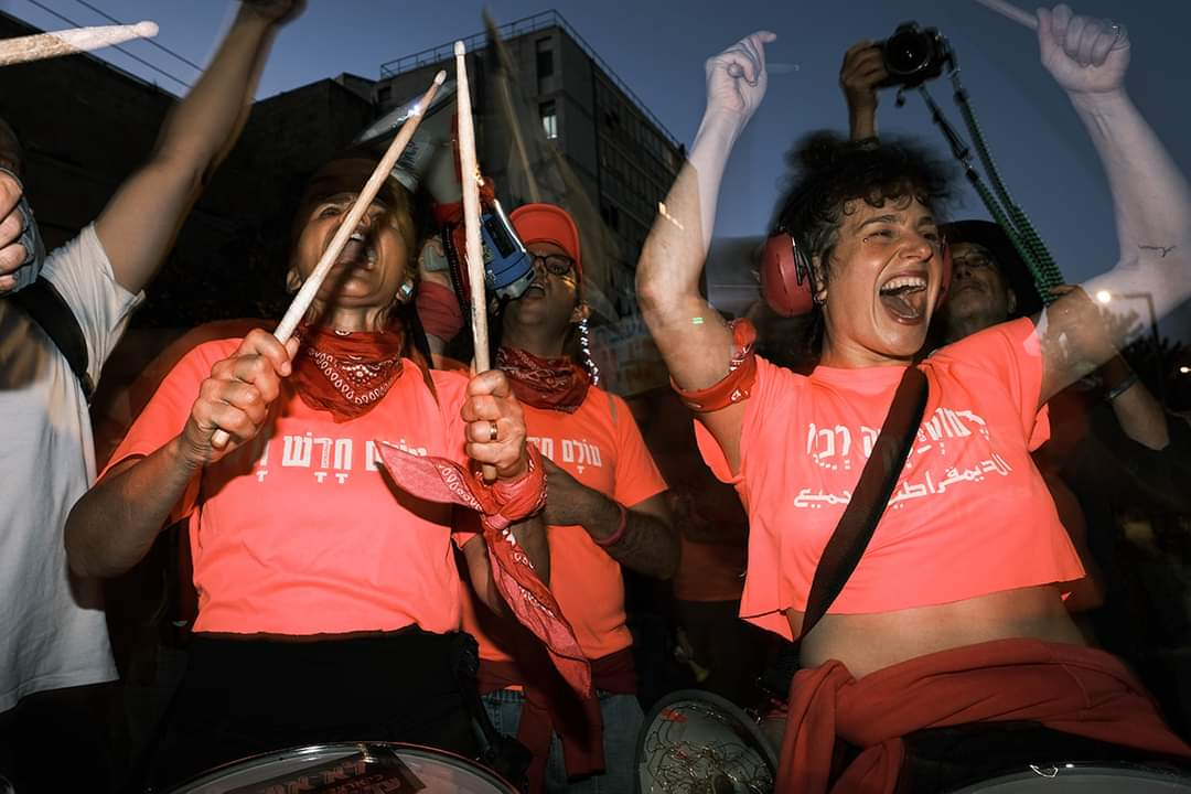 אנחנו, המפגינות והמפגינים, חתומות על המסמך הקואליציוני הזה (צילום: אורנה נאור)