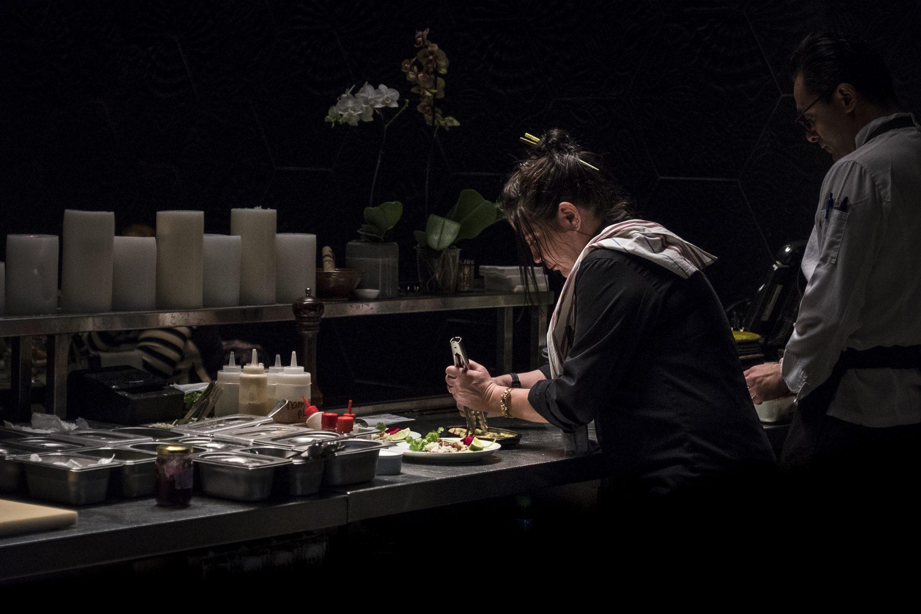 שף רימה אולברה (צילום מתוך אתר מסעדת אואזיס)