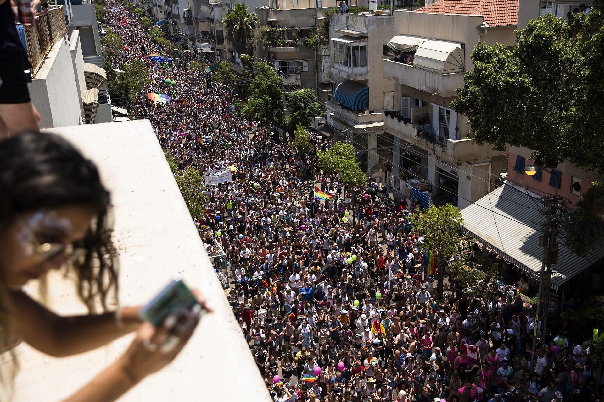 כולם רוצים מצעד, אבל השוויון חשוב יותר. מצעד הגאווה 2019 (צילום: אמיר לוי\גטי אימג'ס)