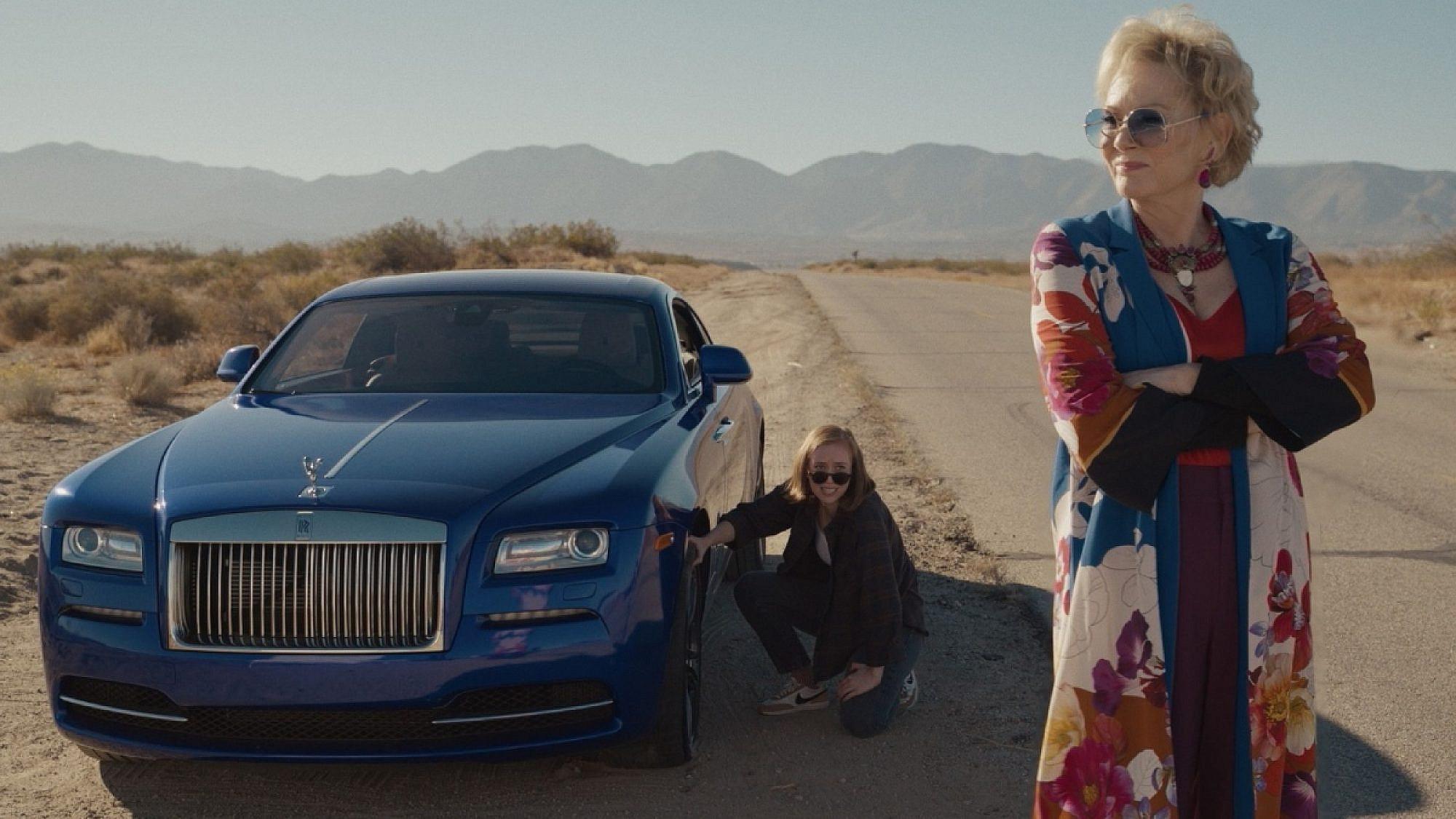"""ג'יין סמארט וחנה איינבינדר ב""""Hacks"""" (צילום: HBO)"""