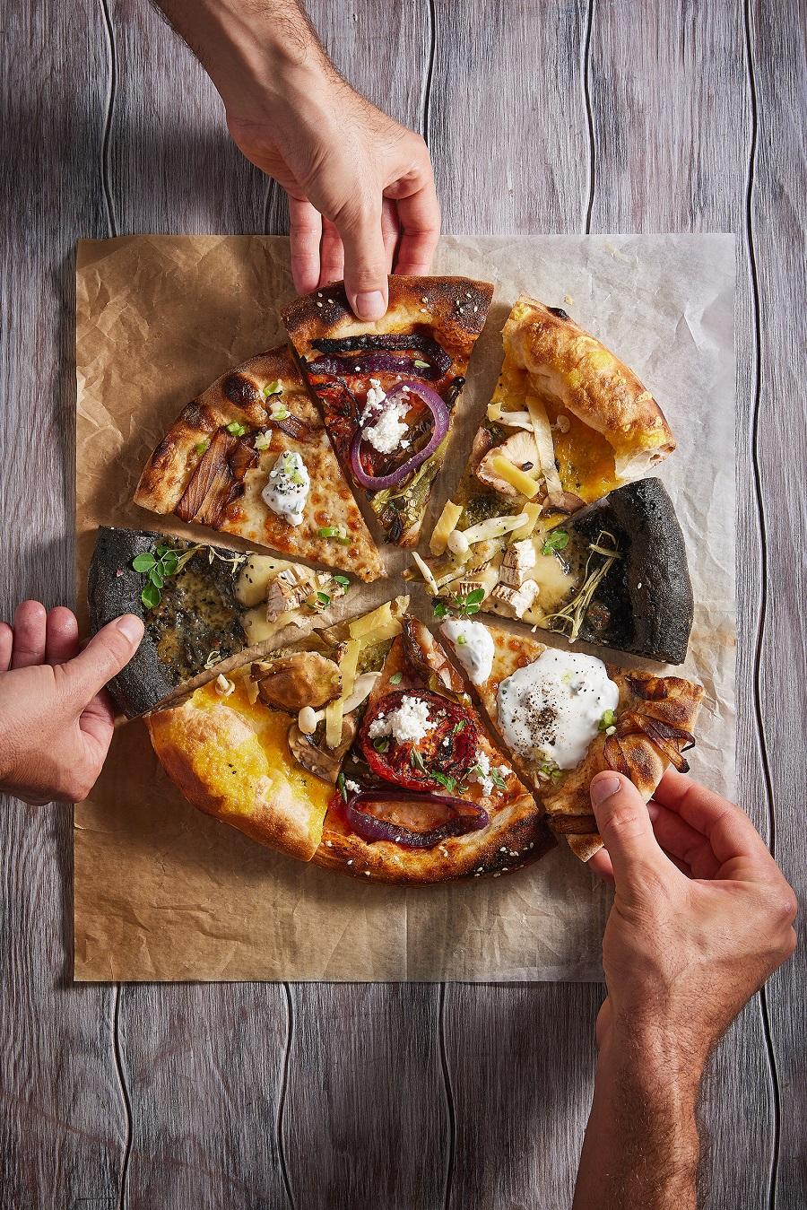 פיצה מוצ'ה (צילום: אפיק גבאי | סטיילינג: עידן ספיבק)