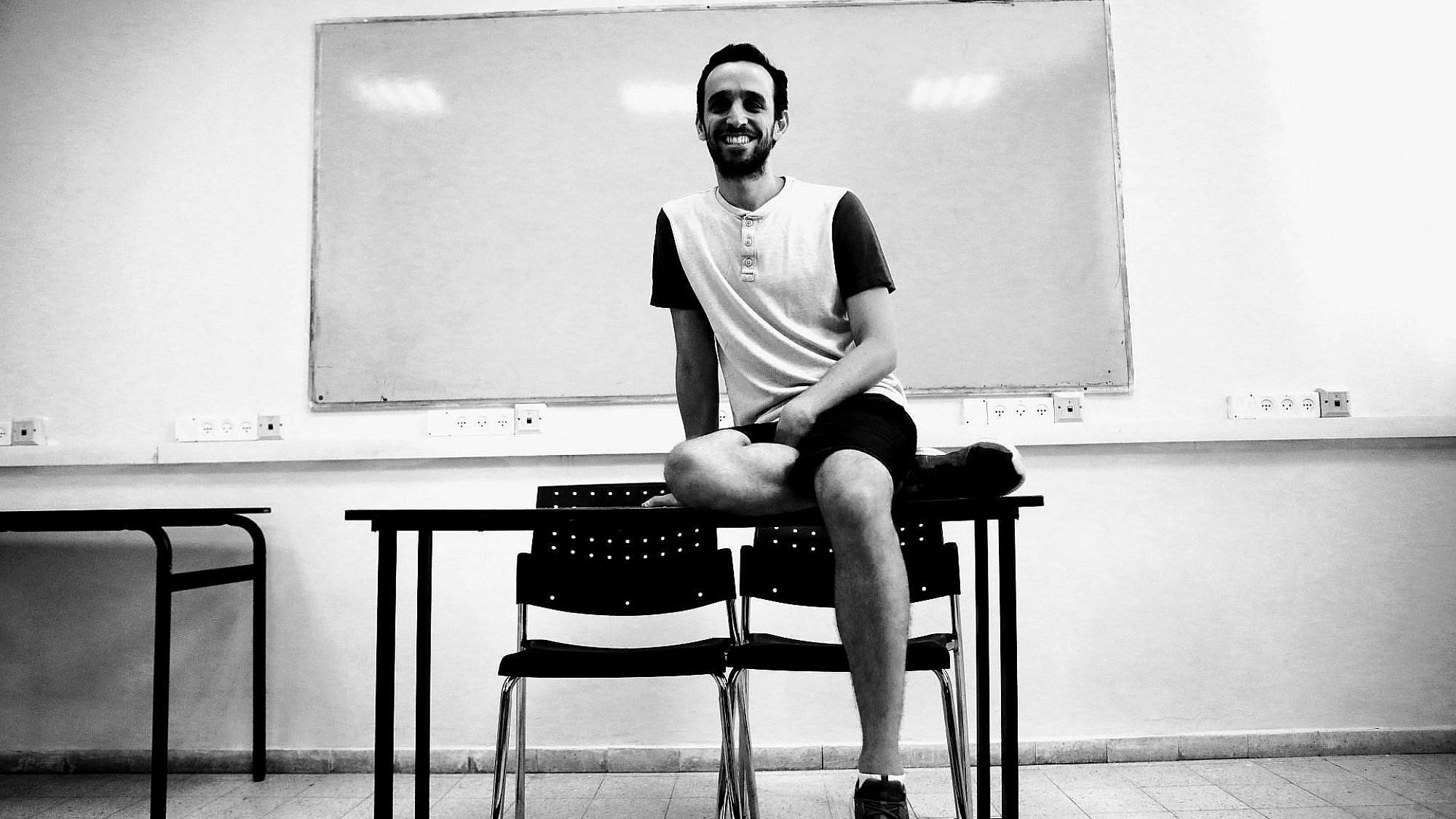אלעד פלג (צילום: שלומי יוסף)