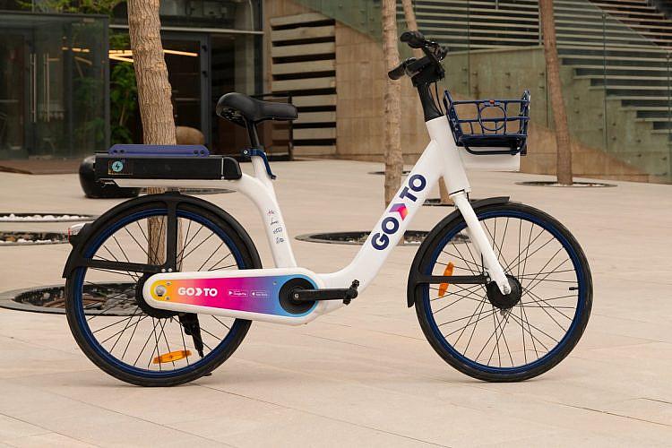 האופניים של Go To (צילום: שי יחזקאל)
