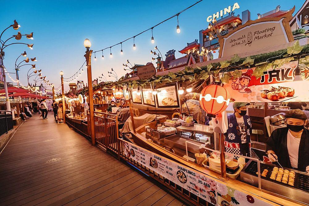 שוק האוכל הבינלאומי. דובאי (צילום: שאטרסטוק)