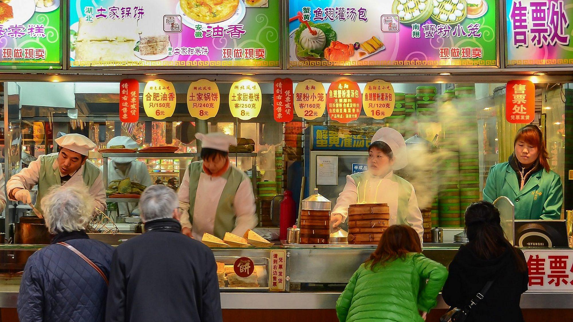 אוכל הרחוב הטוב והמגוון בעולם. שנחאי (צילום: שאטרסטוק)