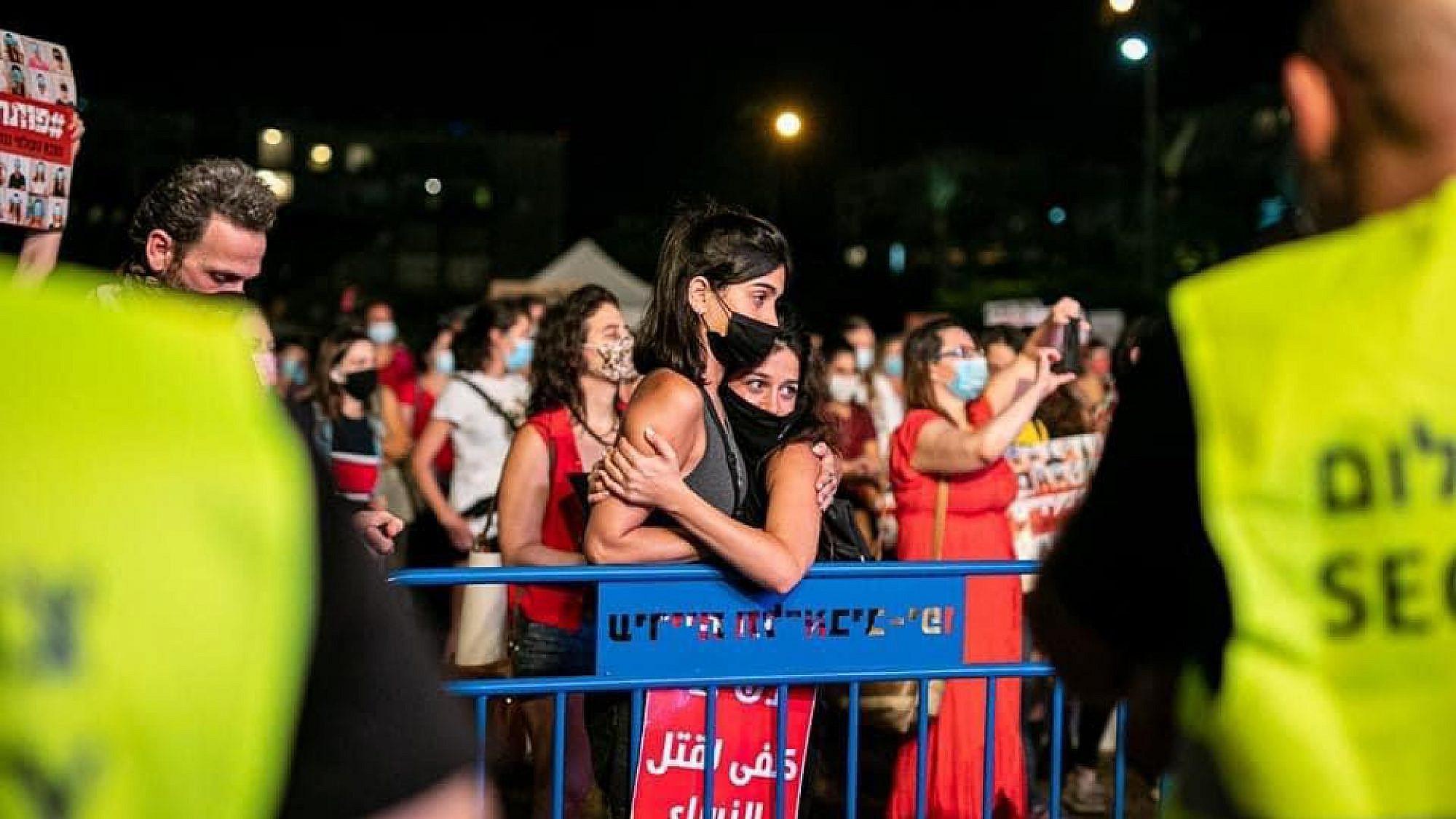 מחאת הנשים. צילום: נועה מגר