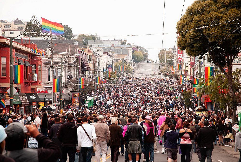 פרוגרסיבים שולטים בעולם שלנו. מצעד הגאווה 2021 בסן פרנסיסקו (צילום: שאטרסטוק)
