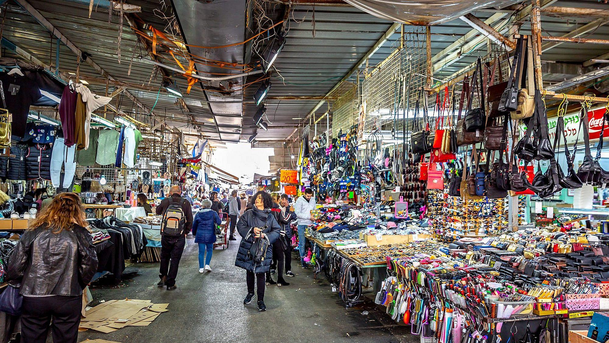 שוק הכרמל. צילום: shutterstock