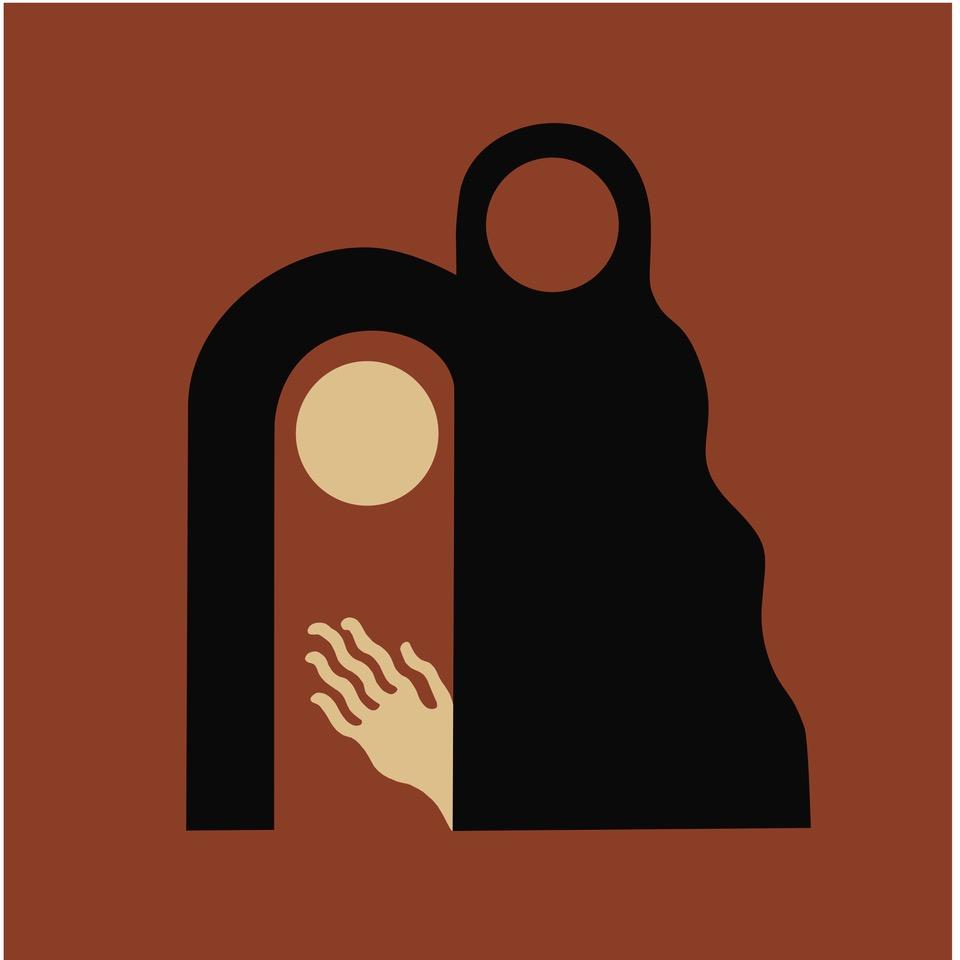 """מתוך """"ידיים מאובקות"""" לגל מלניק (צילום באדיבות גלריה קו 16)"""