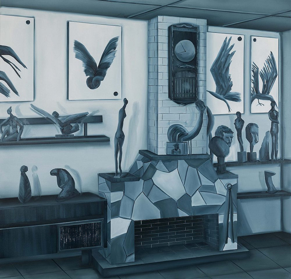 מתוך התערוכה של טל גולני (צילום באדיבות סדנאות האמנים)
