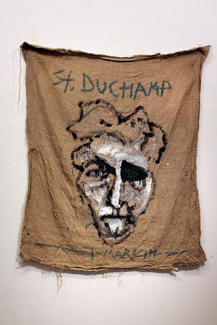 """מתוך """"St. Duchamp"""" של יגאל תומרקין (צילום באדיבות גלריה גבעון)"""