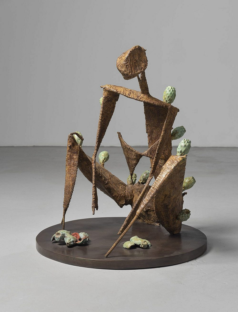 """Prickly Pair Lady"" של סיגלית לנדאו. מתוך התערוכה (צילום: יחסי ציבור)"