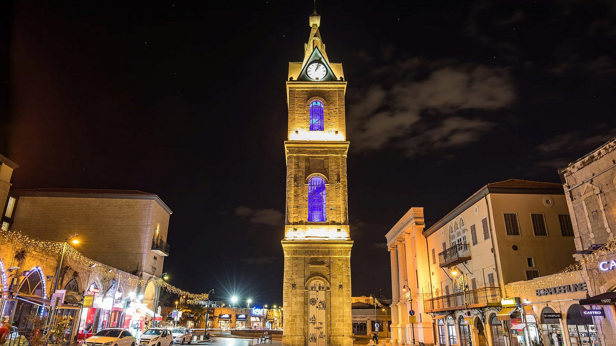 כיכר השעון ביפו. צילום: shutterstock